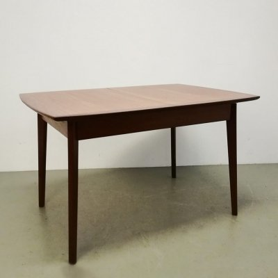 Extendable teak table, 1960s