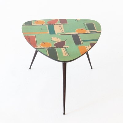 Italian Mid-Century Modern Triangular Coffee Table