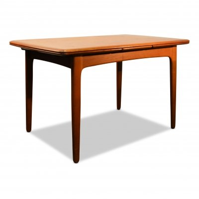 Vintage Svend Aage Madsen teak extendable dining table