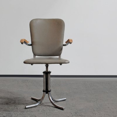 Model 356 swivel office chair by W.H. Gispen, 1950s