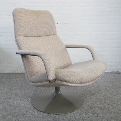 F156 lounge chair by Geoffrey Harcourt for Artifort, 1970s