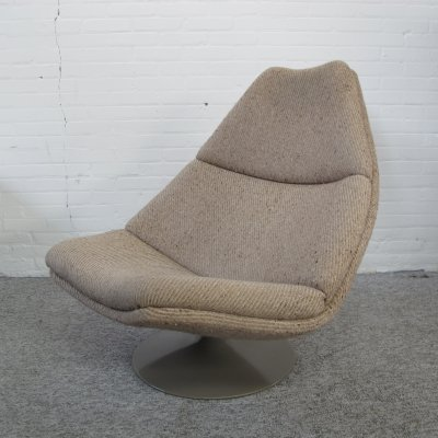 Model F510 lounge swivel chair by Geoffrey Harcourt for Artifort