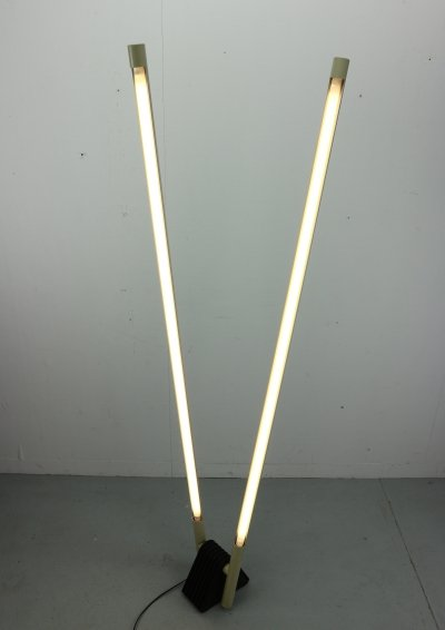 Sistema Flu Lamp by Rodolfo Bonetto for Luci, Italy 1981