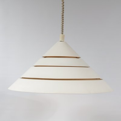 Triangle hanging lamp by Hans Agne Jakobsson, 1960s