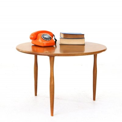 Small Mid-Century Walnut Coffee Table by Wilhelm Renz, 1950s