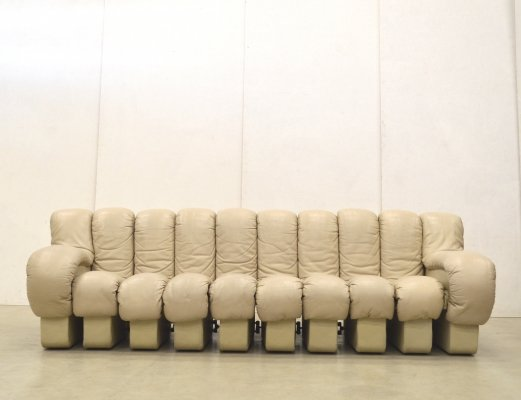 DS600 sofa by Ueli Berger & Eleonore Peduzzi Riva for De Sede, 1980s