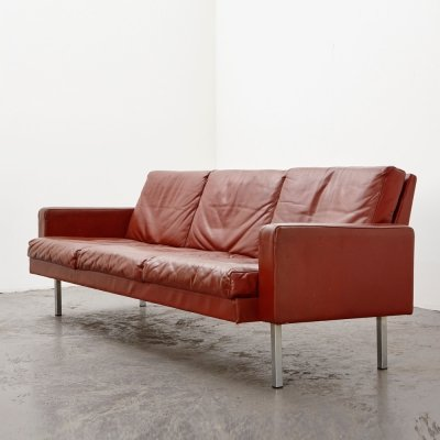 Martin Visser BZ54 Leather Sofa for 't Spectrum, 1968