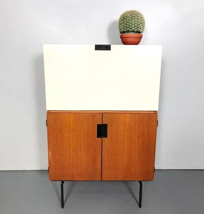Vintage Dutch design 'CU07' cabinet by Cees Braakman for Pastoe
