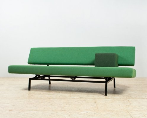 Green & black 'BR03' Sleeper sofa by Martin Visser for Spectrum, 1960s