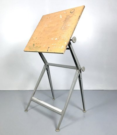 Vintage drawing table by Friso Kramer & Wim Rietveld for Ahrend de Cirkel