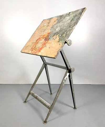 Vintage drawing table by Friso Kramer & Friso Kramer for Ahrend de Cirkel