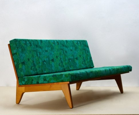 Mid-Century Swedish Teak Sofa or Daybed by Gustaf Hiort Af Ornäs
