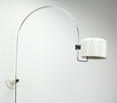 Early 1158 Coupé wall lamp by Joe Colombo for Oluce, 1960s