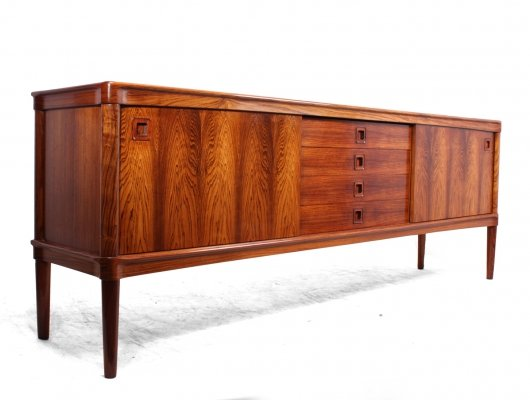 Mid Century Danish Rosewood Sideboard by Bramin