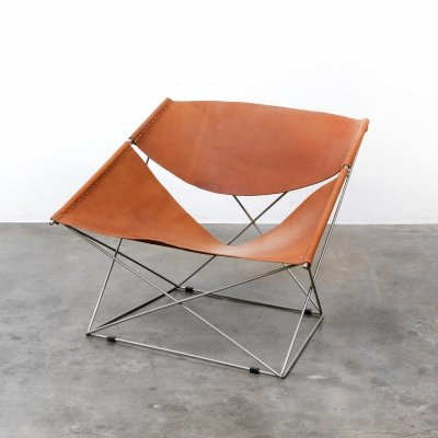 Butterfly F675 lounge chair by Pierre Paulin for Artifort, 1960s