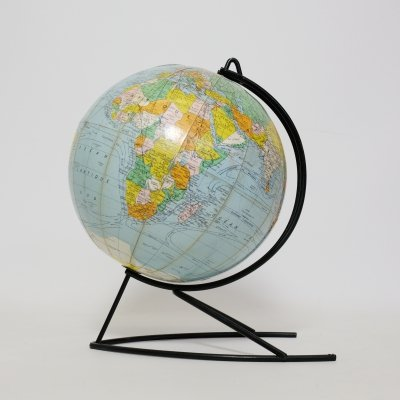 World globe by Girard et Barrère, France 1960s
