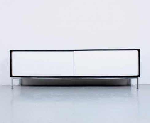 Large black & white 'kw85' sideboard by Martin Visser for Spectrum, 1960s