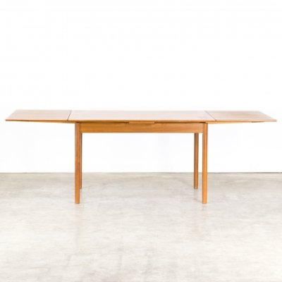 60s Teak extendable dining table