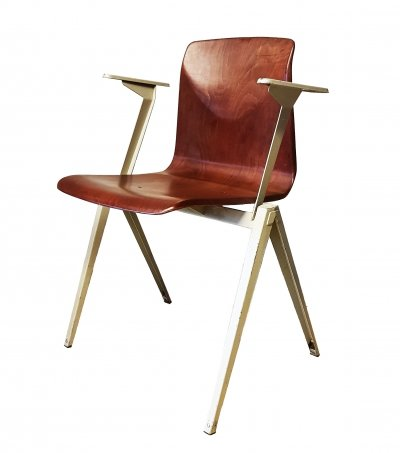 Arm Chair Galvanitas Pagholz, 1960s