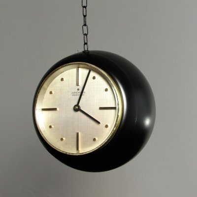 Space Age Junghans Hanging Globe Clock, 1960's
