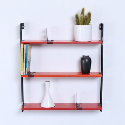 Pocket series wall unit by D. Dekker for Tomado, 1950s