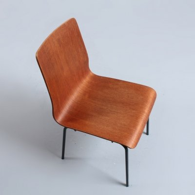 Euroika dining chair by Friso Kramer for Auping, 1960s