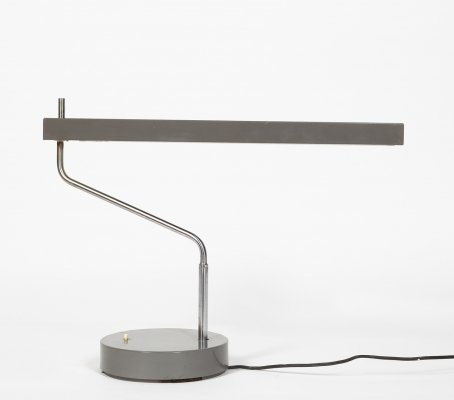 High quality Minimalist lamp by Telle-Büromöbel, 1960s