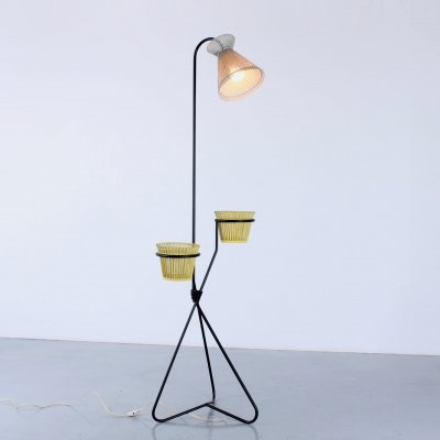 Lampadaire A 97 floor lamp by Mathieu Matégot for Artimeta, 1950s