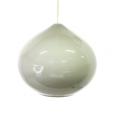 Grey murano glass pendant by Alessandro Pianon for Vistosi, 1960s