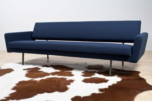 Blue Lotus 65 sleeper sofa by Rob Parry for Gelderland, 1960s