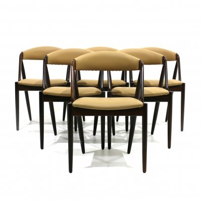 Set of 6 Model 31 Chairs by Kai Kristiansen, 1960s