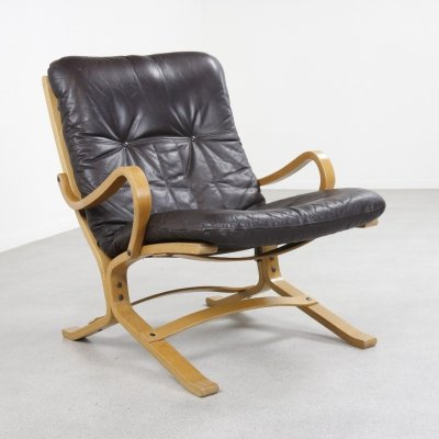 Early Siësta lounge chair by Ingmar Relling for Westnofa, 1960s
