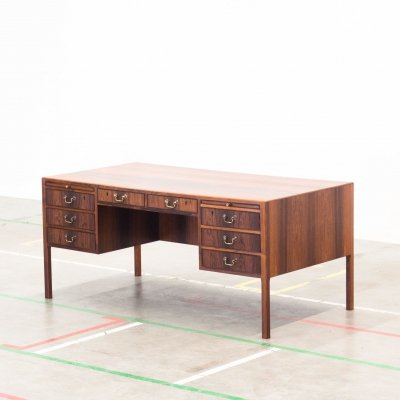 Writing desk by Ole Wanscher for AJ Iversen, 1950s