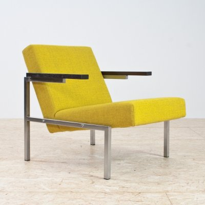 Yellow SZ64 lounge chair by Martin Visser for Spectrum, 1960s