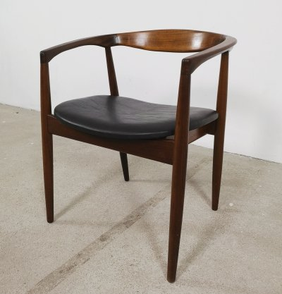 Troja chair by Kai Kristiansen in teak & leather