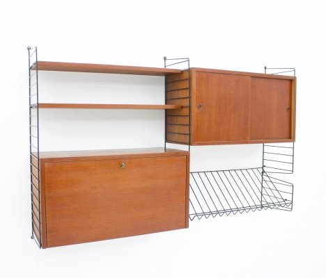 Early Wall Sytem by Nisse Strinning, 1950s