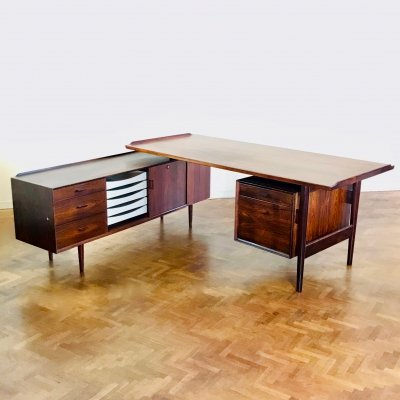 Model 208 writing desk by Arne Vodder for Sibast, 1960s