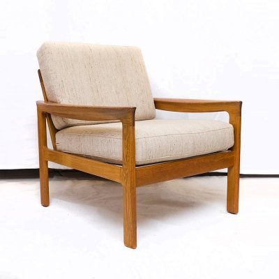 1960s Teak Lounge Chair by Arne Wahl Iversen for Komfort Denmark