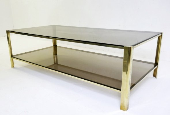 Coffee Table In Solid Bronze by Jacques Quinet for The Maison Malabert, 1960s