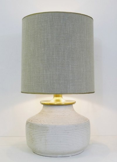 Terracotta Table Lamp, 1960s