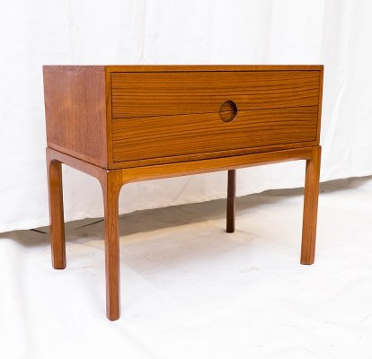 Small Teak Chest of Drawers by Kai Kristiansen for Aksel Kjersgaard