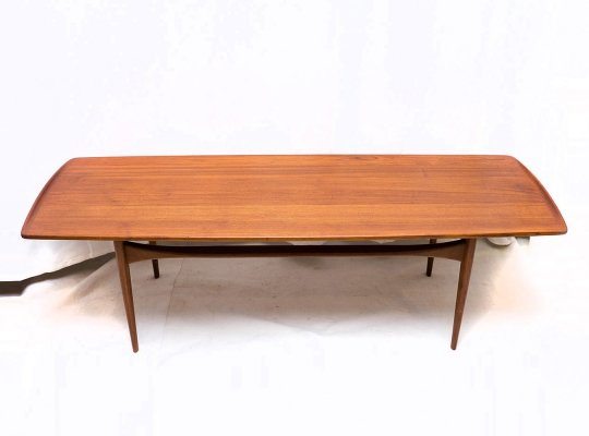 FD503 Teak Coffee Table by Tove & Edvard Kindt-Larsen for France & Daverkosen