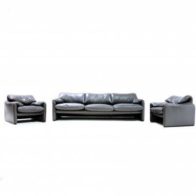 Maralunga seating group by Vico Magistretti for Cassina, 1980s