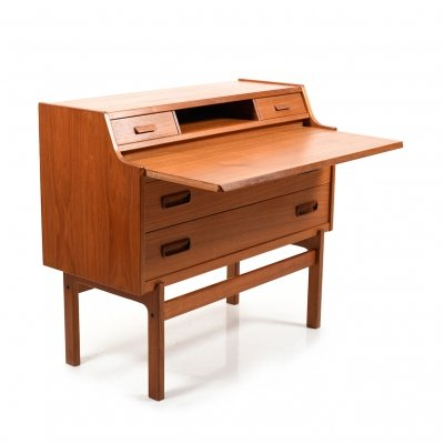 Arne Wahl Iversen Writing Cabinet in Teak, 1960s