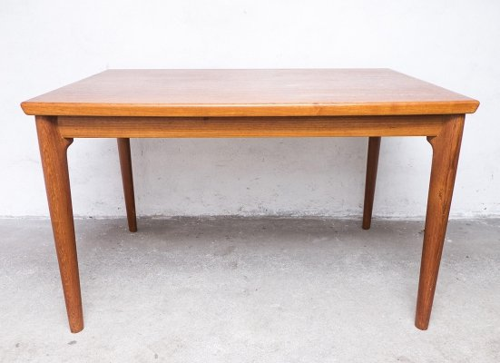 Extendable Teak Dining Table by Grete Jalk for Glostrup