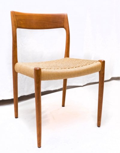 Teak Modell 77 Chair by Niels Otto Møller