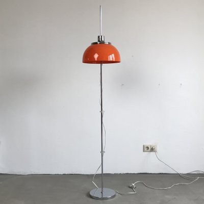 Faro Floorlamp by Harvey Guzzini, Italy 1970s