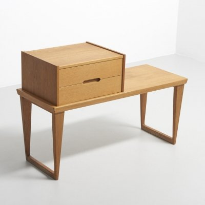 Hallway furniture in oak by Kai Kristiansen