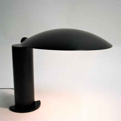 Black desk lamp 'Washington' by Wilmotte, 1983