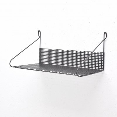 Perforated hairpin shelf